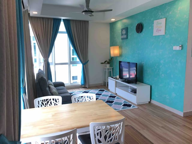 JZ Retreat Central Residence|Free Parking|WIFI