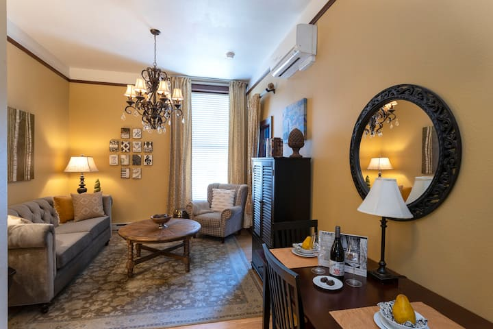 Cozy Pied-a-Terre' in Historic McMinnville Bank