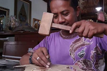 Galery Wayang Kulit & Homestay Joko Art Samigaluh