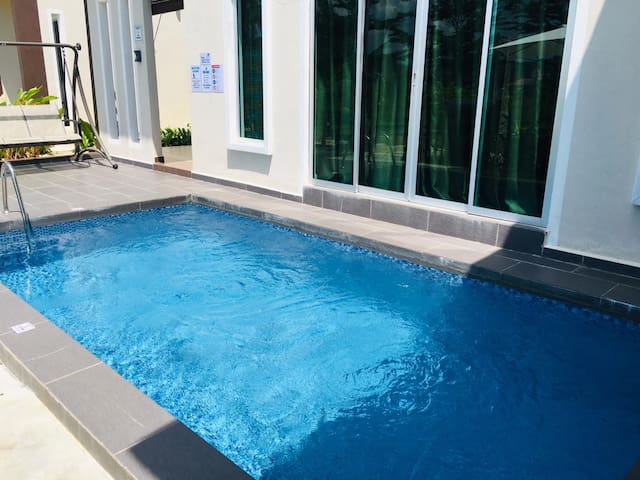 Pool for guest only 15 x 8 ft with 4 ft depth.