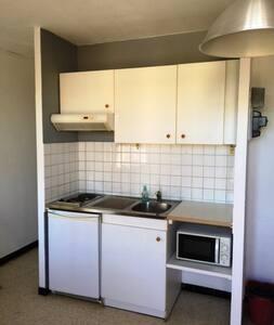 Studio meublé et équipé de 21 m², proche  centre - Montpellier - Apartment