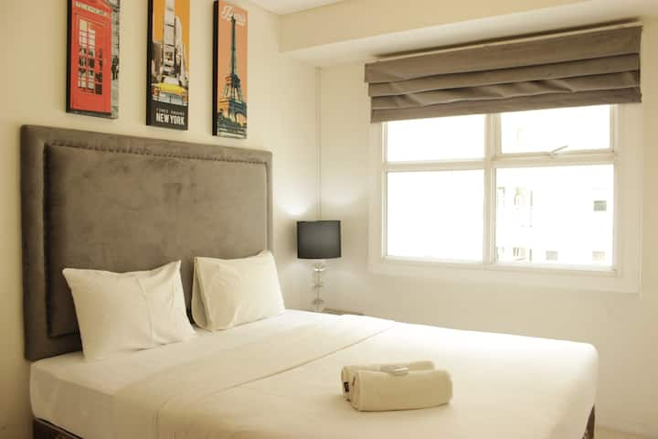 Simply Homey 1BR Apartment @ Parahyangan Residence