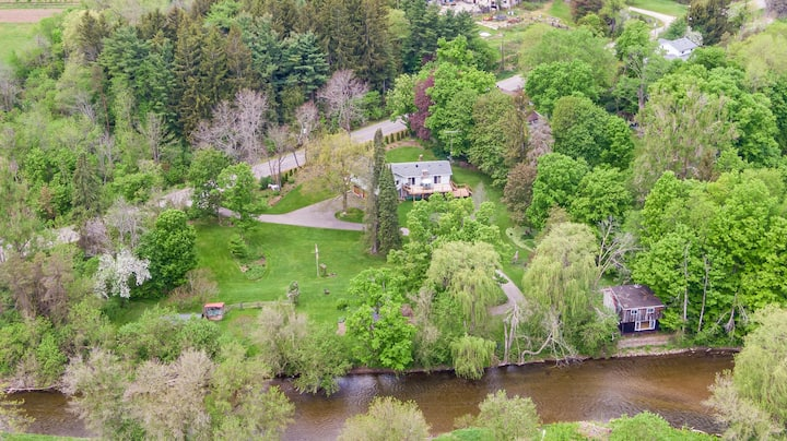 Cottage on Credit River in Caledon