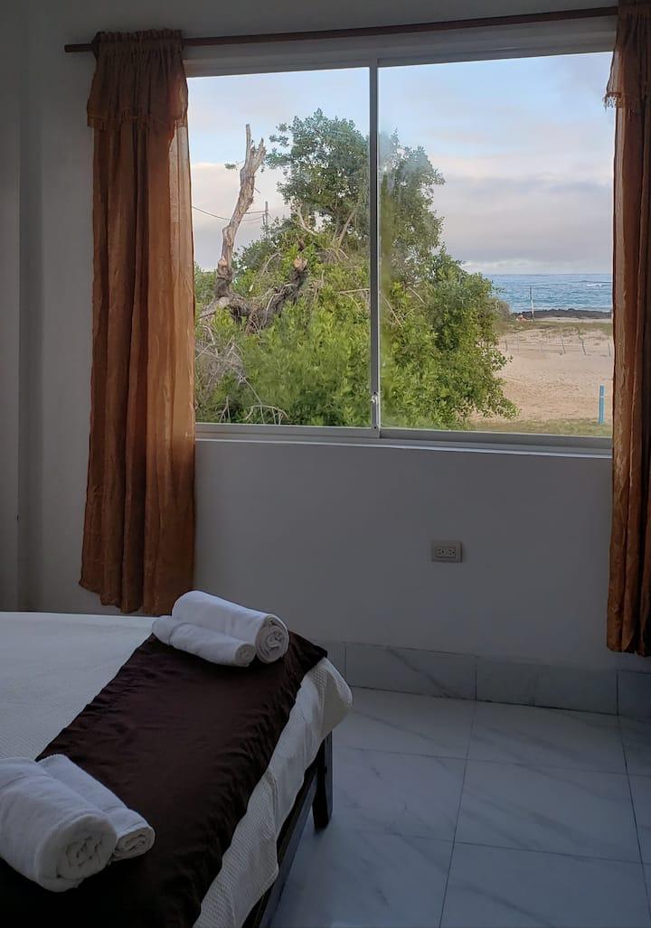 Hostal La Jungla Habitación con Vista al Mar