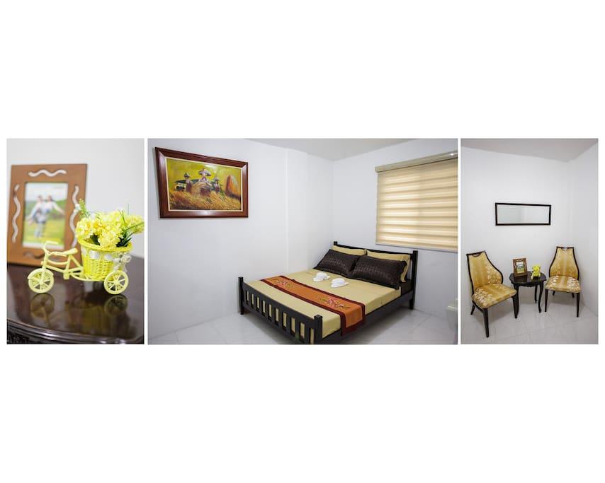 Spacious Masters Bedroom
