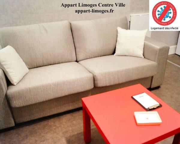 Appart Limoges Centre Ville !