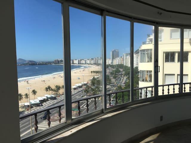 Copacabana frente al mar - Rio de Janeiro