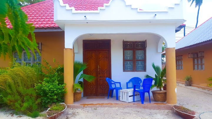 Paje Monsoon Villas -4 Minutes To The Beach