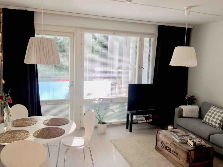 Stylish and brand new studio in Espoo, near Sello