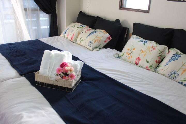 4POK★Subway3min★Namba&Dotonbori&USJ★wifi★701 - Naniwa-ku, Ōsaka-shi - Apartamento