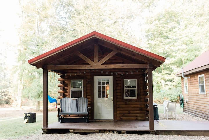 Fire Pit Private Cabins Retreat In The Woods!