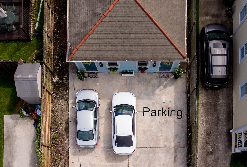 Off street parking for your convenience.