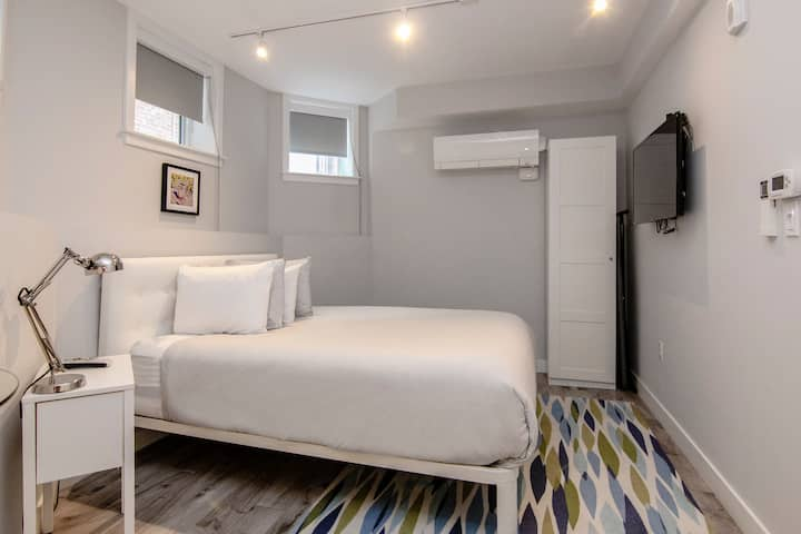 A Stylish Stay w/ a Queen Bed, Heated Floors.. #3