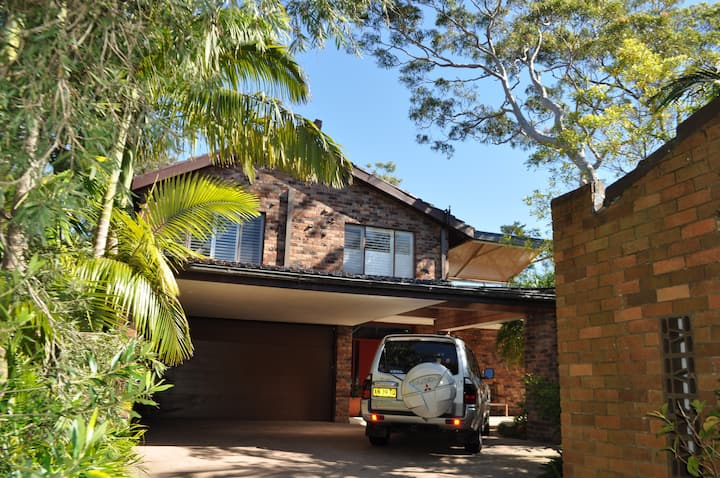 Home near Manly, has private areas,  some shared.