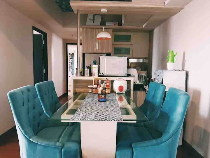 2BR Apartment @ CBD area.Full furnished&FREE Wifi