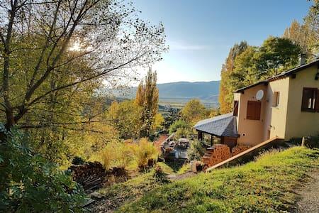 Appart indépendant dans un village de montagne