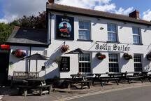 Village pub. 10 minutes walk