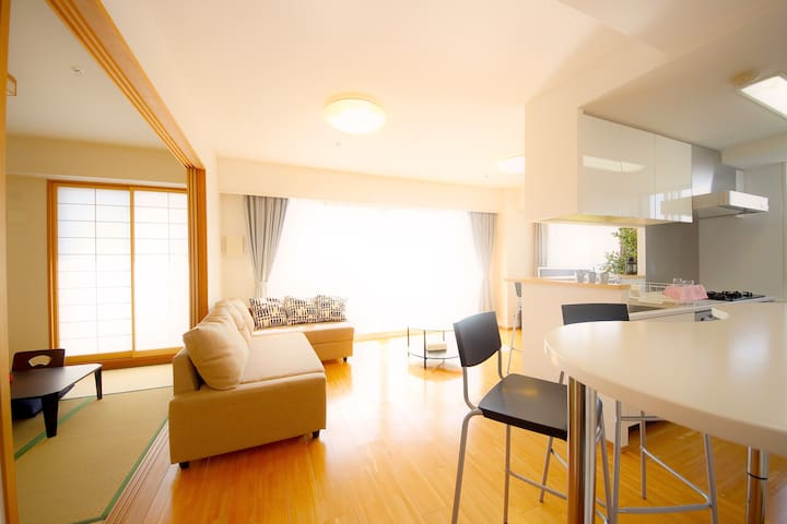 Super Luxury Tower apt in Namba#28 - Ōsaka-shi - Appartamento