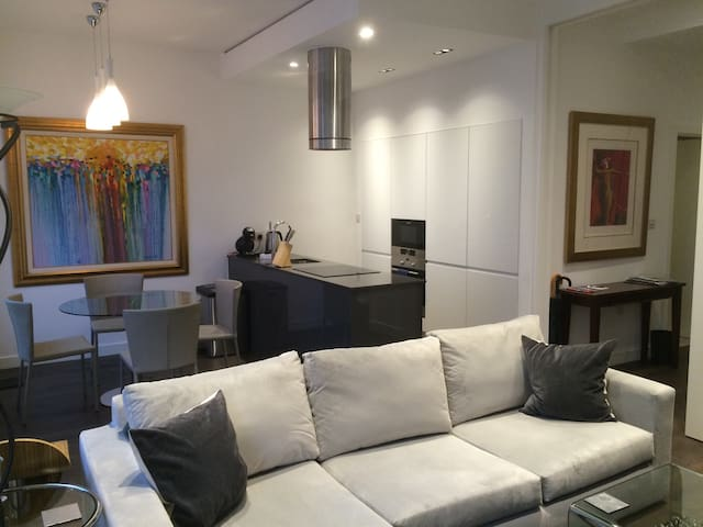 Modern flat in Mayfair