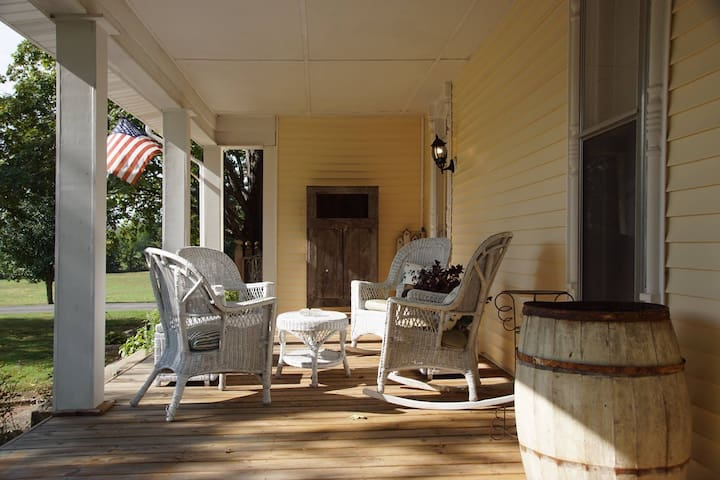 Lazy Days Front Porch