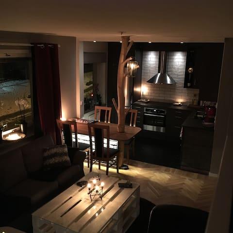 Modern 1a 10 minuter ifrån centrum - 哥德堡 - 公寓
