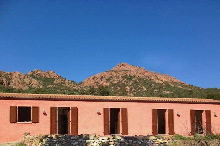 Lo Stazzu Rosa - tradicional house - Scupaggiu - Lägenhet