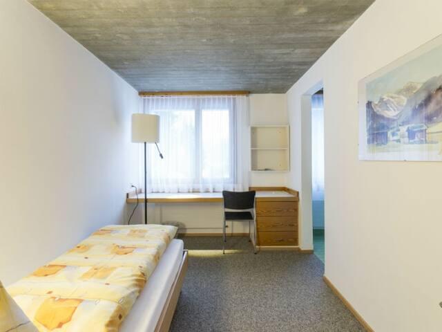 Haus der Begegnung, (Ilanz), 30306A, Einzelzimmer Superior Dusche/WC