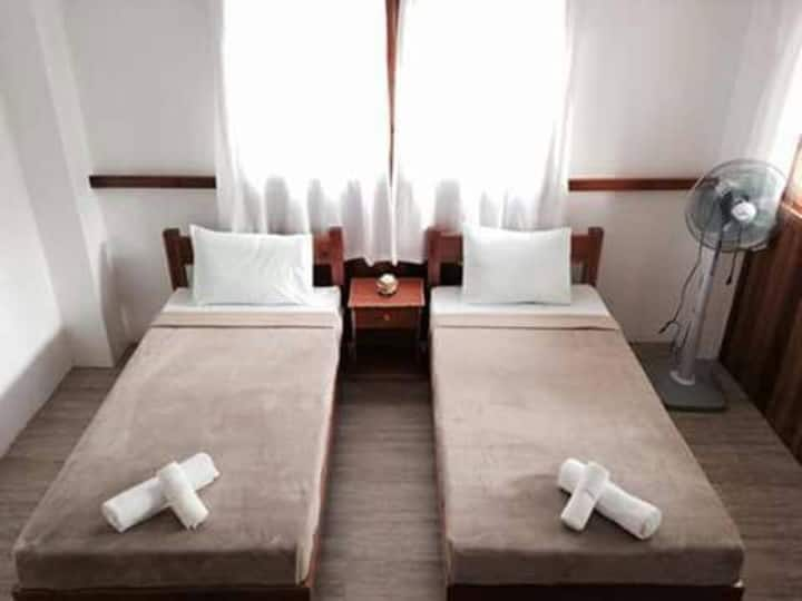 Private Double Room No1 at Pahiluna Guesthouse