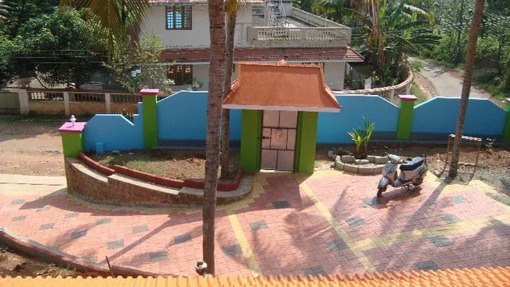 Varkala bungalow with a view