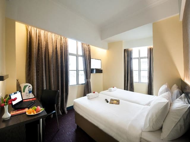 Comfy Double Superior Room In Kuala Lumpur