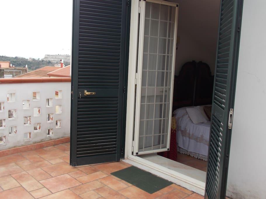 Terrazza Camera da letto 1
