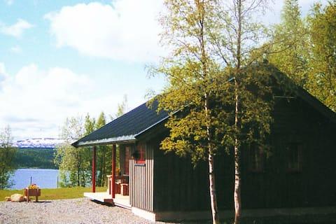 Typisch Noors vakantiehuis in Nordli aan het meer