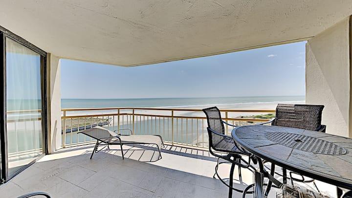 Ocn Creek ST KK9-2BR/2BA Oceanfront Condo, ask about Monthly Rentals!