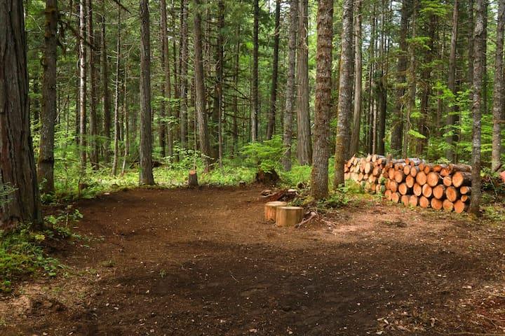 Cascade Valley Camp ***Site #2***