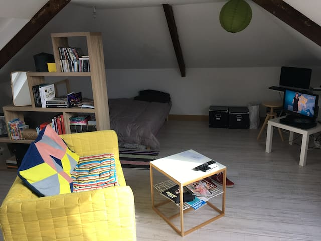 Studio aux portes de Caen - Mondeville - Byt