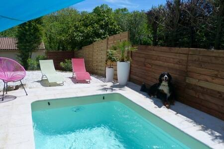 Belle villa et petite piscine 5 p. - Aniane