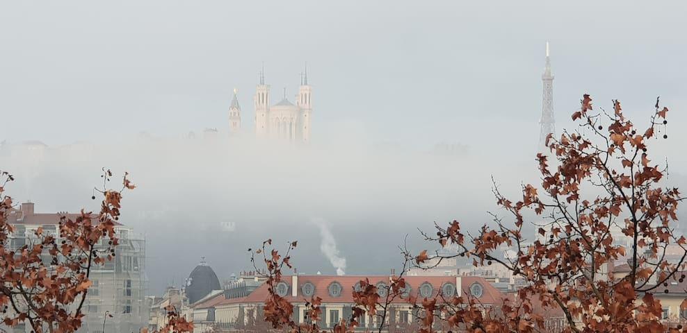 """The "" View of Lyon"