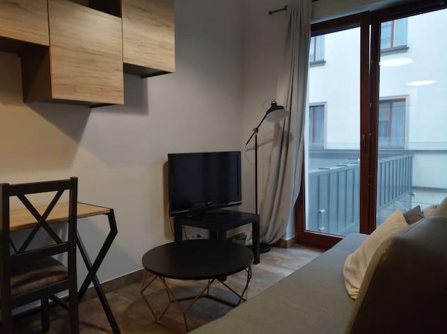 Przestronny Apartament 103 przy Starym Rynku