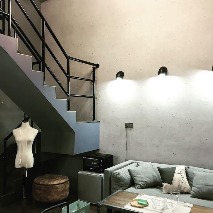 一楼沙发区