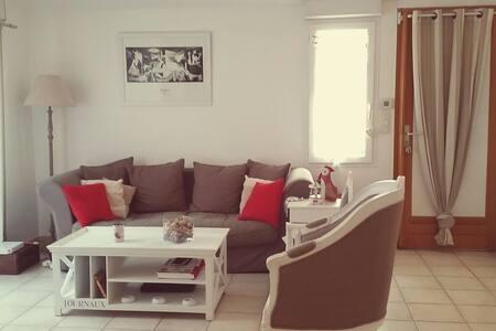 Chambre, parking privé, terrasse - Draguignan