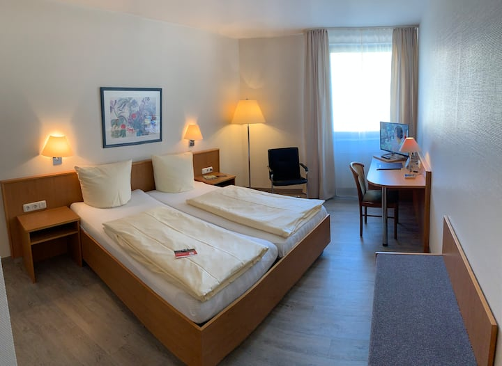 Doppelzimmer im Herzen von Trier / Double room directly in the city
