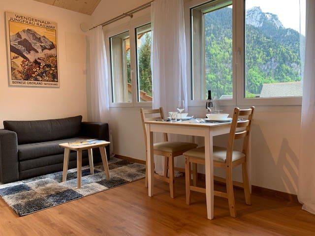 1-Zimmer Wohnung im Herzen der Jungfrauregion