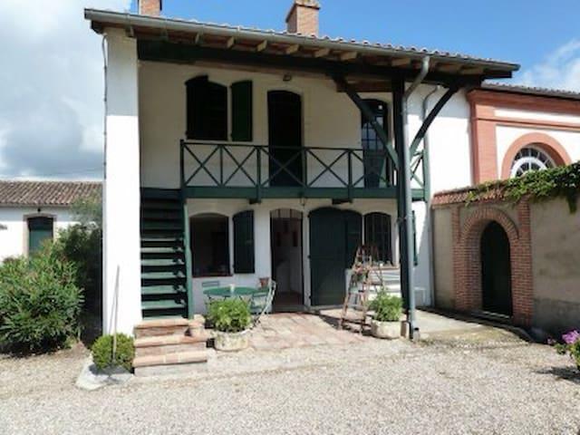 La maison du jardinier - Villemur-sur-Tarn - Dom