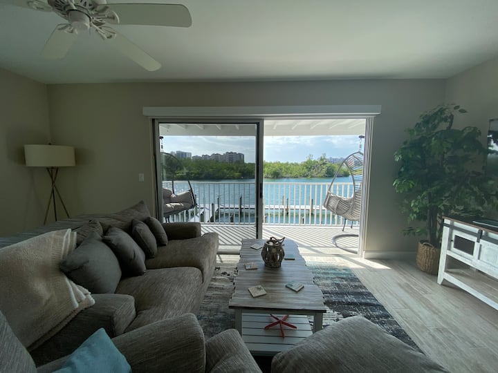 Beautiful Waterfront Condo on Old Marco