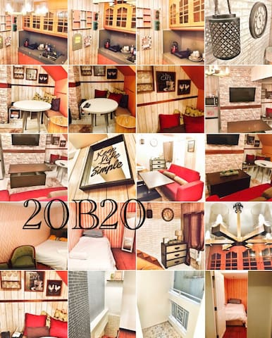 2BR Rustic Country Flat - Manila - Appartement