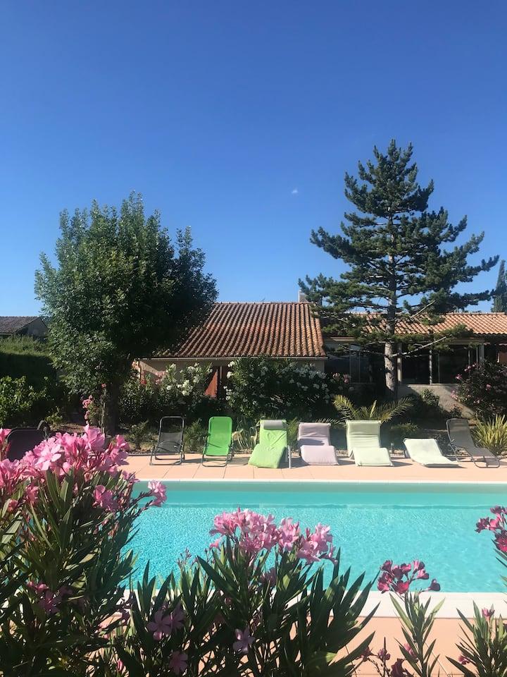 Villa Luberon avec piscine
