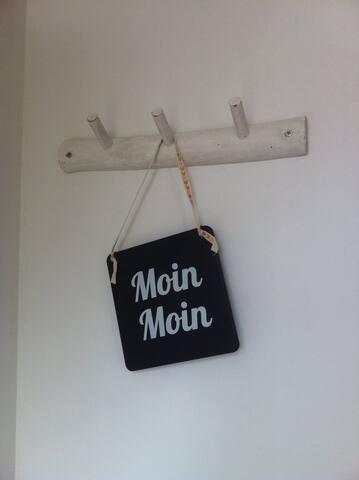 Moin, Moin begrüsst euch der Eingangsbereich