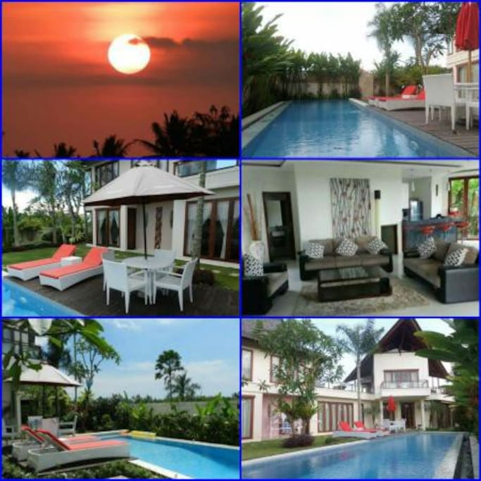 "A Batur villa at canggu , batubolong , BALI so amazing to stay and pampers you , while holidays in bali  5 Minute from PEPITO CANGGU , BERAWA BEACH , OLD MAN'S , BATU BOLONG BEACH  600 Sqm land  2 Storey  AC , TV 42"" , Satellite channel  Balcony , Pool , Hot water  Kitchen set , Refrigerator , Microwave  Wifi  4BR per night 300$ ( 300$ x 3 = 900$ ) > Minimum stay 3 days  2BR per night 150$ ( 150$ x 3 = 450$ )  > Minimum stay 3 days  Weekly price ;  4BR x 7 days = 1,300$  2BR x 7 days =   800$ Monthly price ;  4BR x30 days = 3,500$ 2BR x 30days = 2,500$ Daily price ; 1BR x 3 days = 225$ Yearly price ; 350 Mill ( 26,900$ )  coNTACT BY  WA +6287861661428"