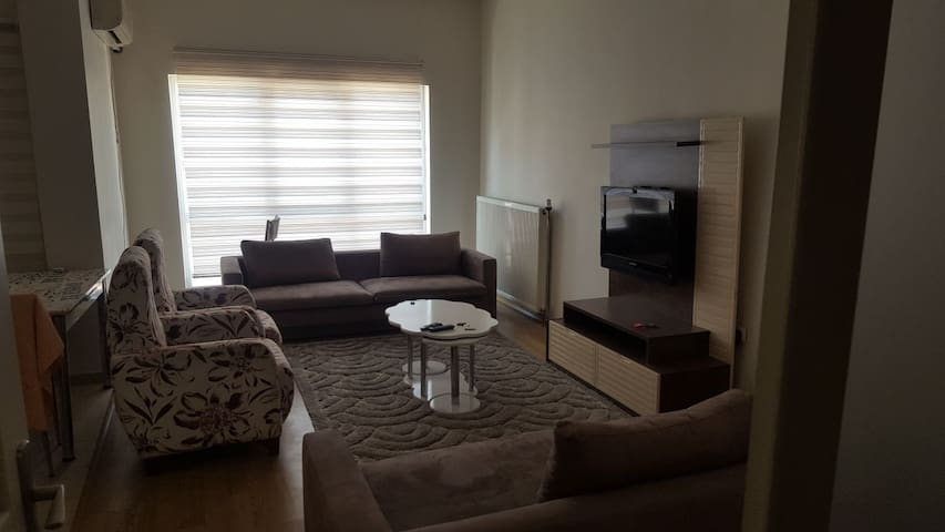 17th floorfresh, apartment with full furnitures,