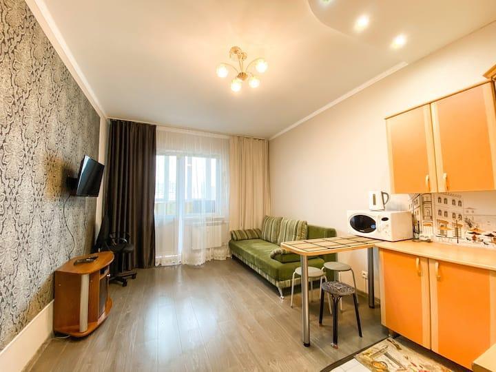 Компактная квартира рядом с ЖД и Аурой